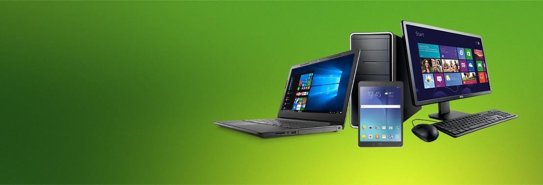 Vendita computer desktop, computer portatili, computer assemblati, tablet.